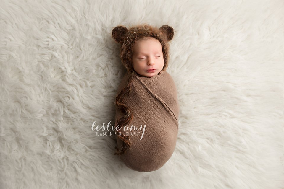 Everest | Conway Newborn Photographer | Leslie Amy Photography