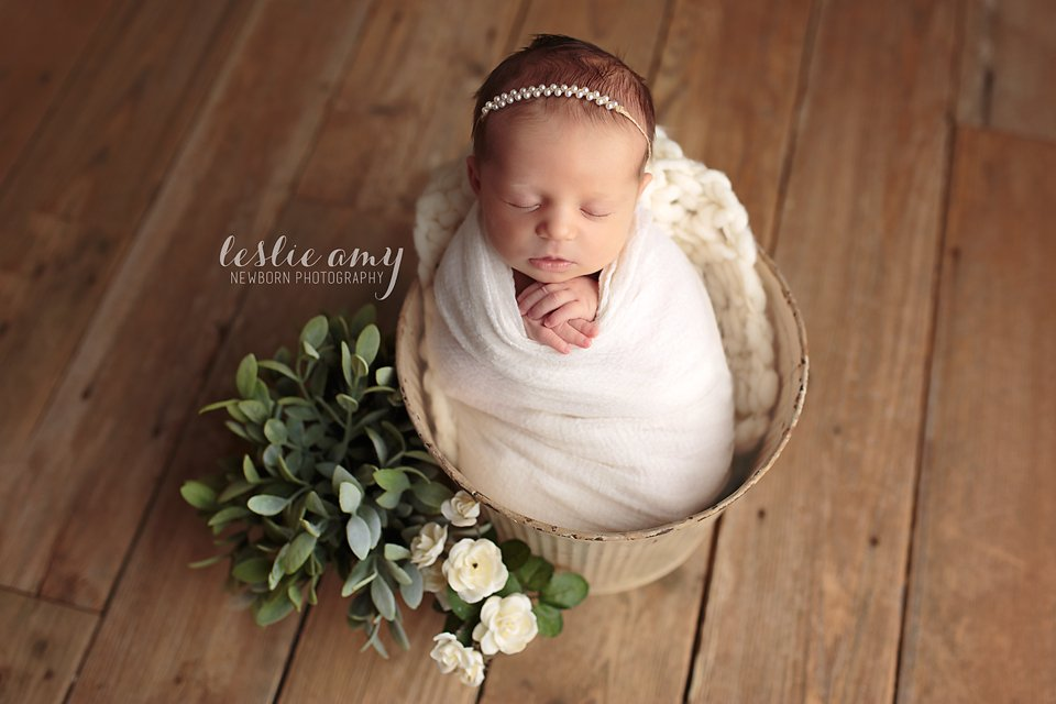 Maisa | Leslie Amy Photography | Conway Newborn Photographer