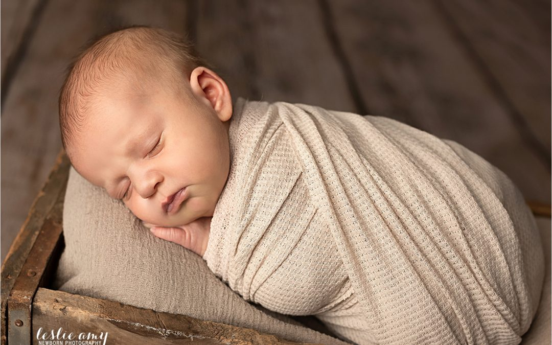 Tate, 18 days old | Conway Newborn Photographer