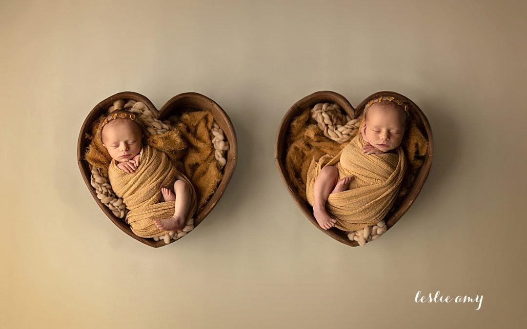 Twin Girls | Conway Newborn Photographer